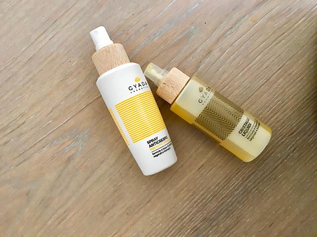 First Impressions: Gyada Cosmetics Spray Anticrespo e Cristalli Liquidi