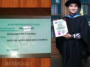 Thumbnail image for Isu Pangkat Dato' & Doktor, Bukti Kad Pengesahan Nama (KPN) Boy Iman Palsu Didedahkan