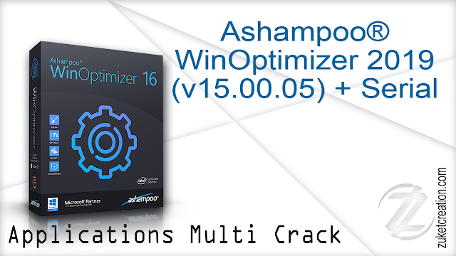 Ashampoo® WinOptimizer 2019 (v15.00.05) + Serial