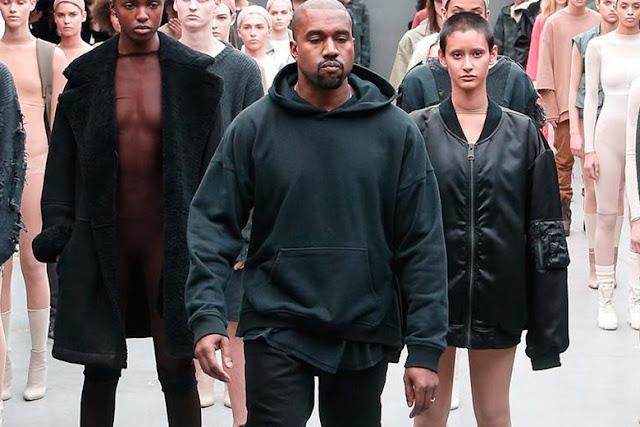Kanye West está procurando alguém para investir 100 milhões em sua linha de roupa