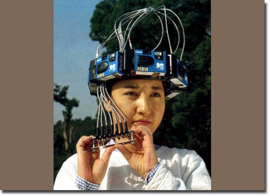 Invenções Bizarras - Capacete de Foto 360