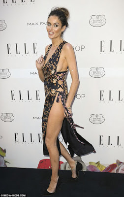 Nicole Trunfio bares it all in revealing dress at the Elle Australia Style Awards 2015