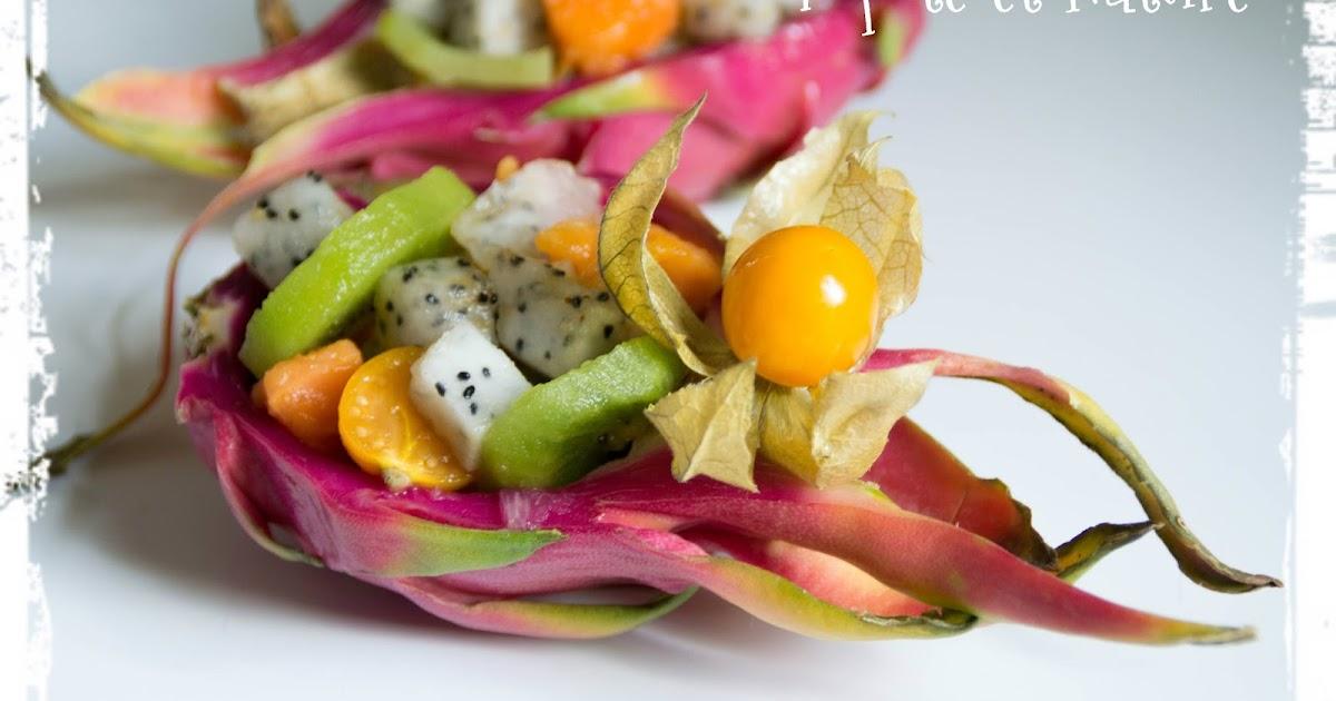 Popote et nature salade de fruits exotiques au fruit du - Image fruit exotique ...
