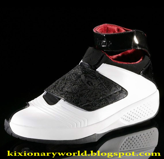 """795e33ec12d922 The Air Jordan 20 (XX) was released in 2005. """"Welcome to the future"""""""