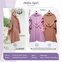 Jual Baju Busana Muslim Dress Antika Syari
