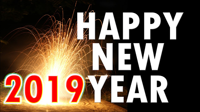 happy new year animated wallpaper fireworks