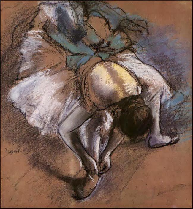 Edgar Degas biografía bailarinas azules imágenes tumblr