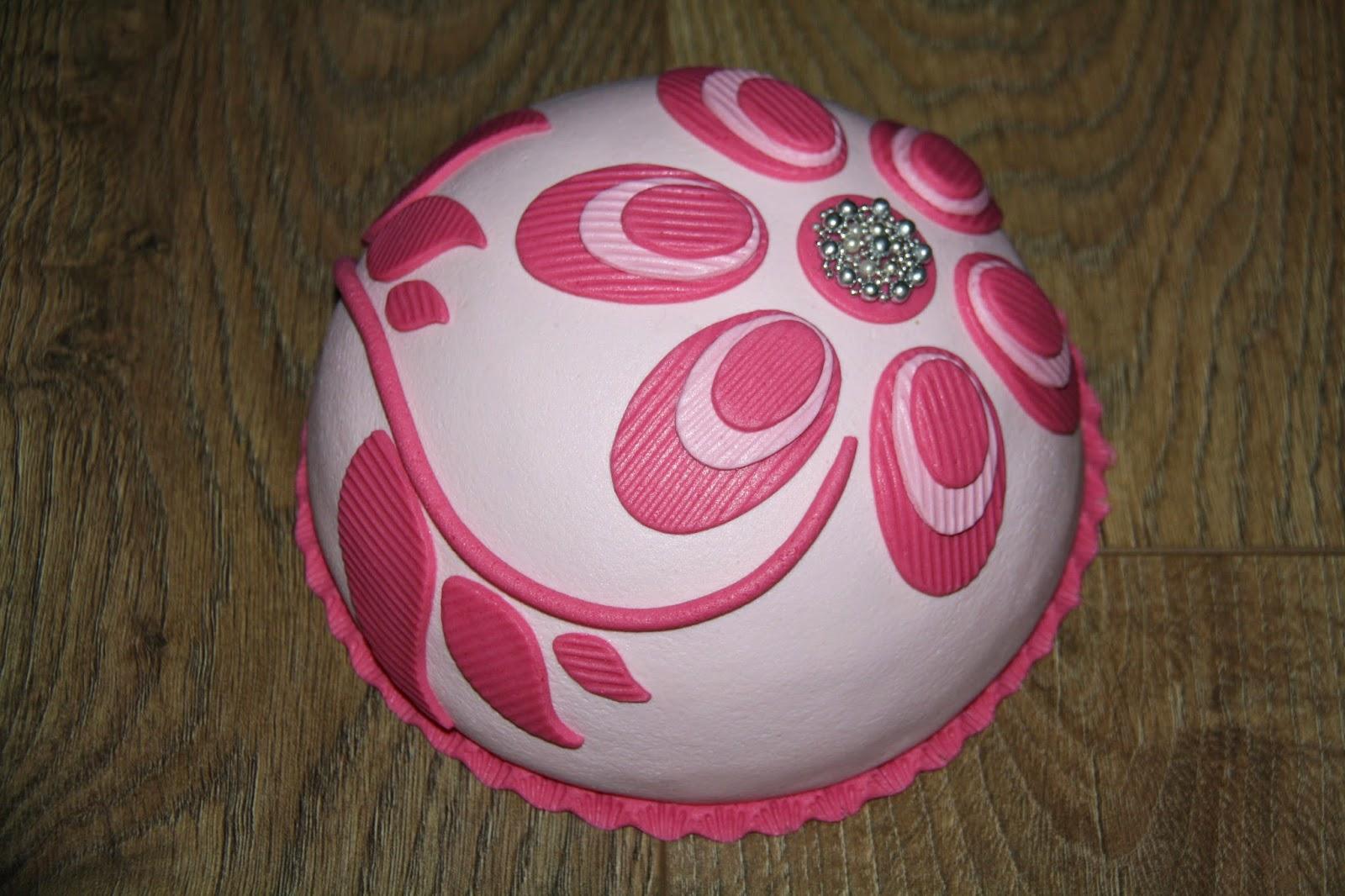 taart bol Karin's Taarten: Bloem bol taart bol