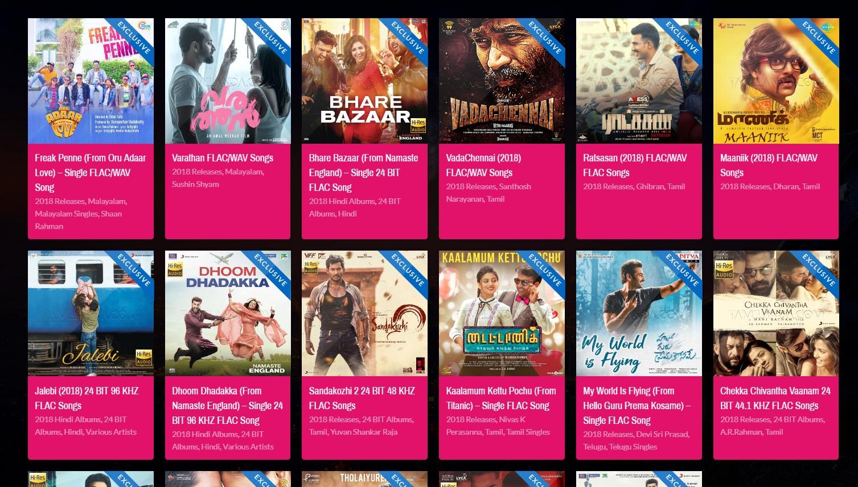 download hindi songs flac format
