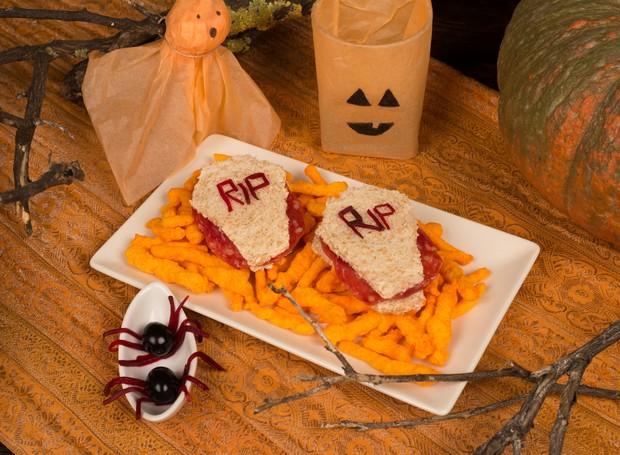 Prato para Halloween