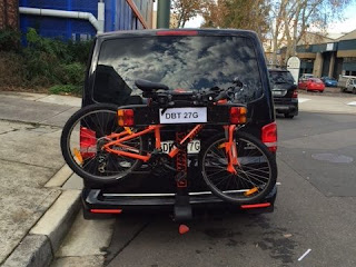 Rear Mounted Bike Carriers