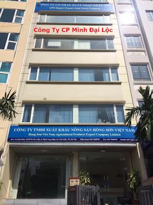Tòa nhà Công Ty CP Minh Đại Lộc - Cầu Giấy - Hà Nội
