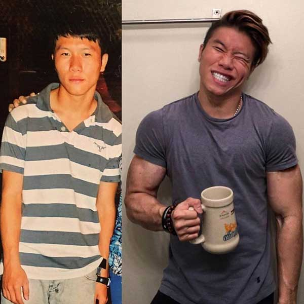 nguyen quang huy before after