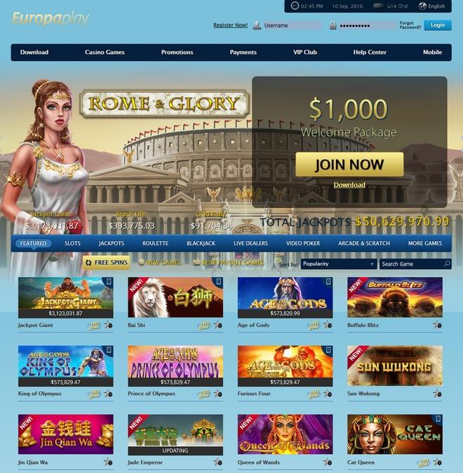 Europaplay Screen