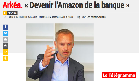 Arkéa. Devenir l'Amazon de la Banque.