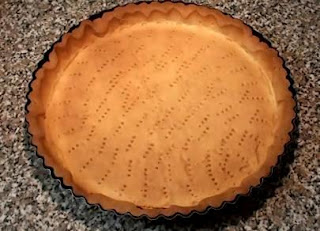 Imagen: Base de la tarta de limón