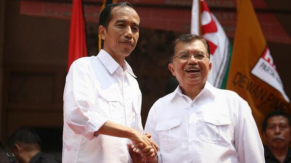 PDIP Tidak Keberatan JK Kembali Dampingi Jokowi