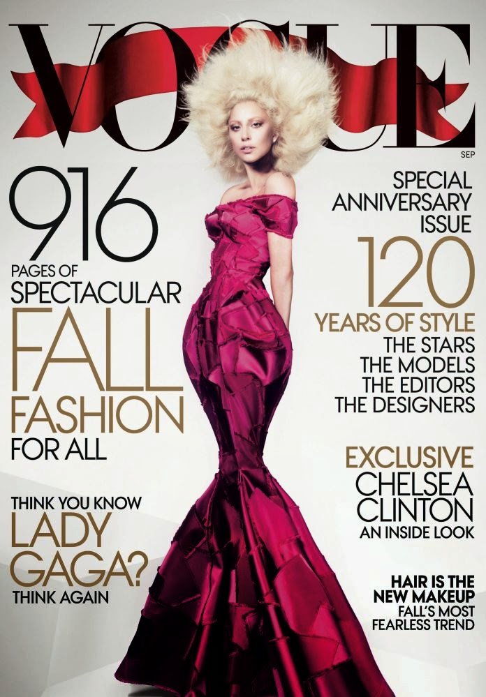 PHOTOS : Lady Gaga Covers Vogue