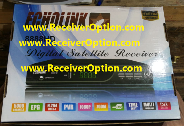 ECHOLINK 8888HD RECEIVER POWERVU KEY SOFTWARE NEW UPDATE