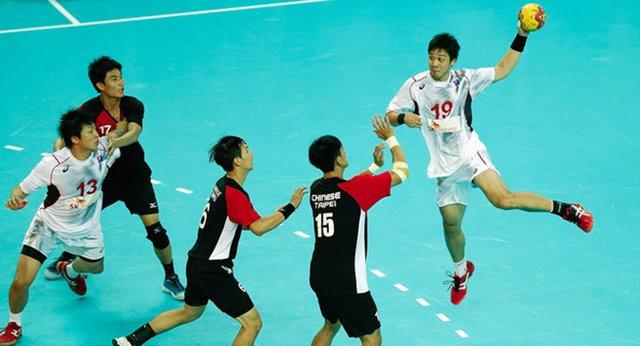 Handball Asian Games 2018