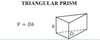 Công thức tính thể tích hình lăng trụ tam giác Công thức tính thể tích hình lăng trụ tam giác