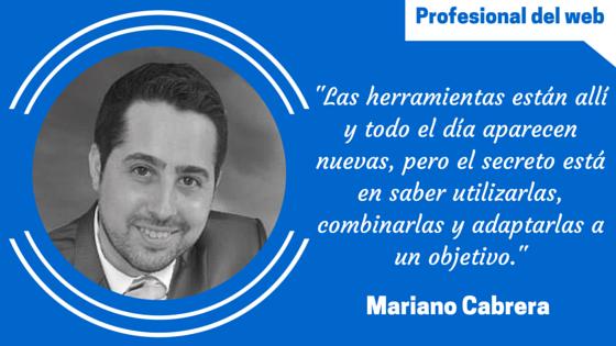 Perfil de profesional del web: Mariano Cabrera Lanfranconi