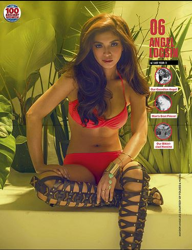 Angel Locsin FHM Sexiest 2015