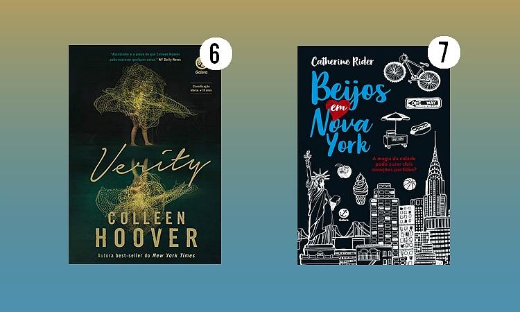 Grupo Editorial Record;Verity - Colleen Hoover;Beijos em Nova York - Catherine Rider