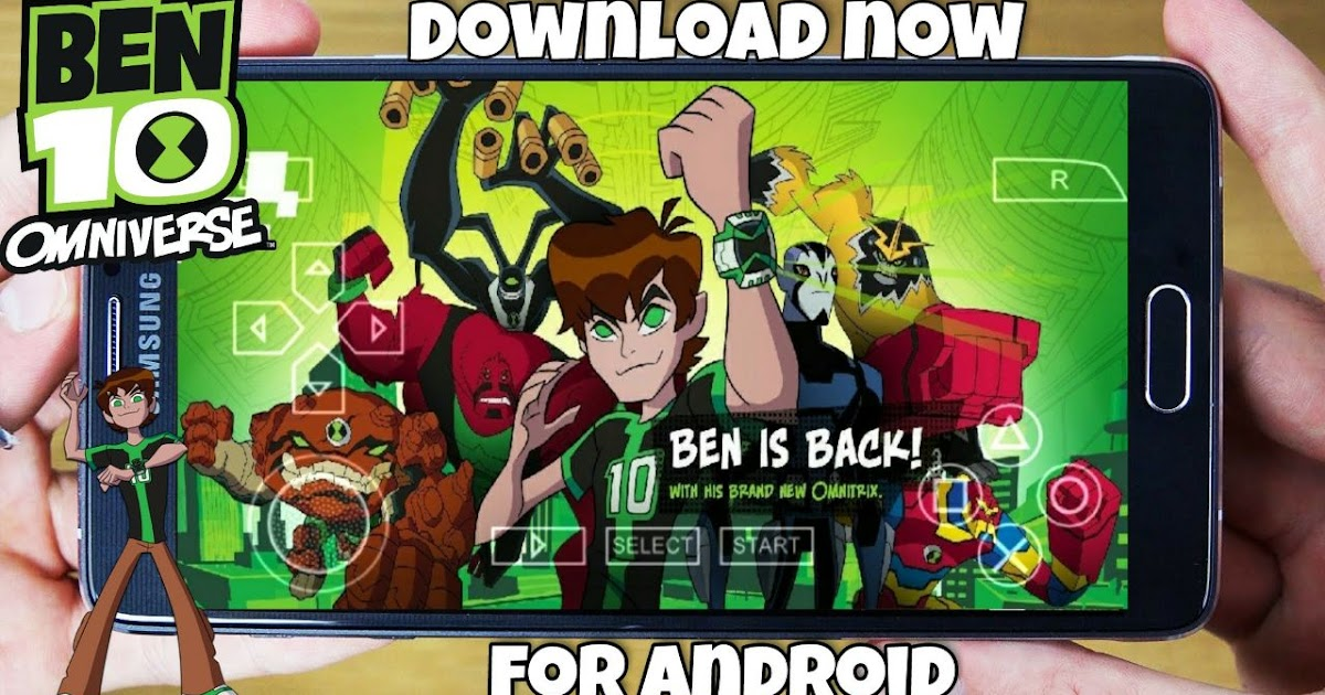 Download Now Ben 10 Game For Android Highly Compressed