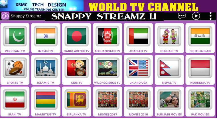 Download Snappy StreamZ1.1 Update(Pro) IPTV Apk For Android Streaming World Live Tv ,Sports,Movie on Android      Quick Snappy StreamZ1.1 Update(Pro)IPTV Android Apk Watch World Premium Cable Live Channel on Android