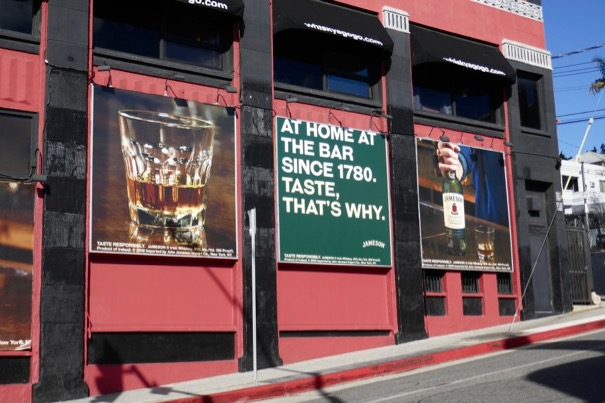 Jameson Whiskey 2019 billboards