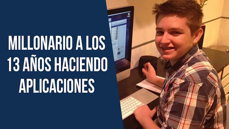 Millonario a los 13 años haciendo aplicaciones - Michael Sayman