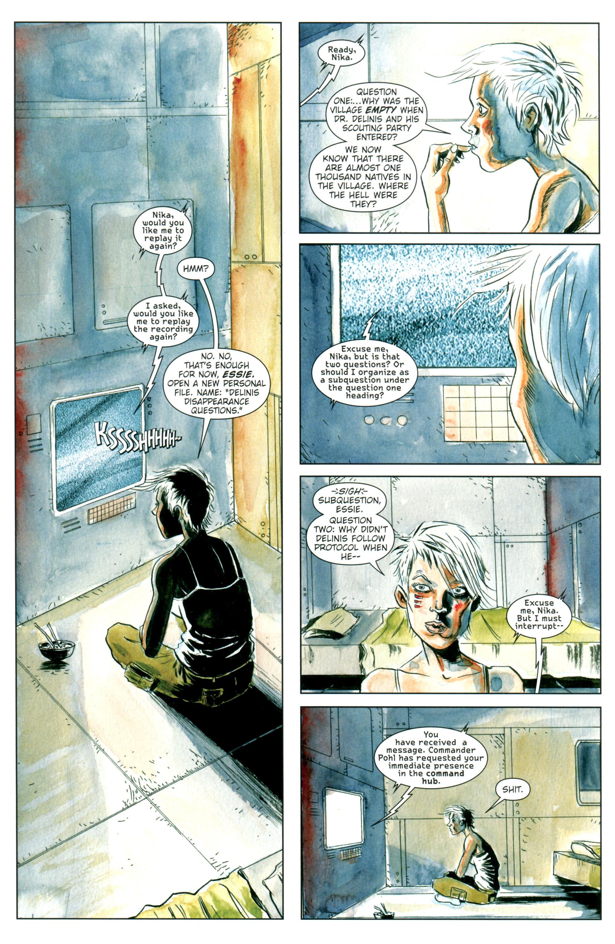 Read online Trillium comic -  Issue #1 - 18