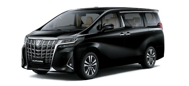 Toyota ALPHARD Pricelist - As of January 2019 (Luzon - Philippines)