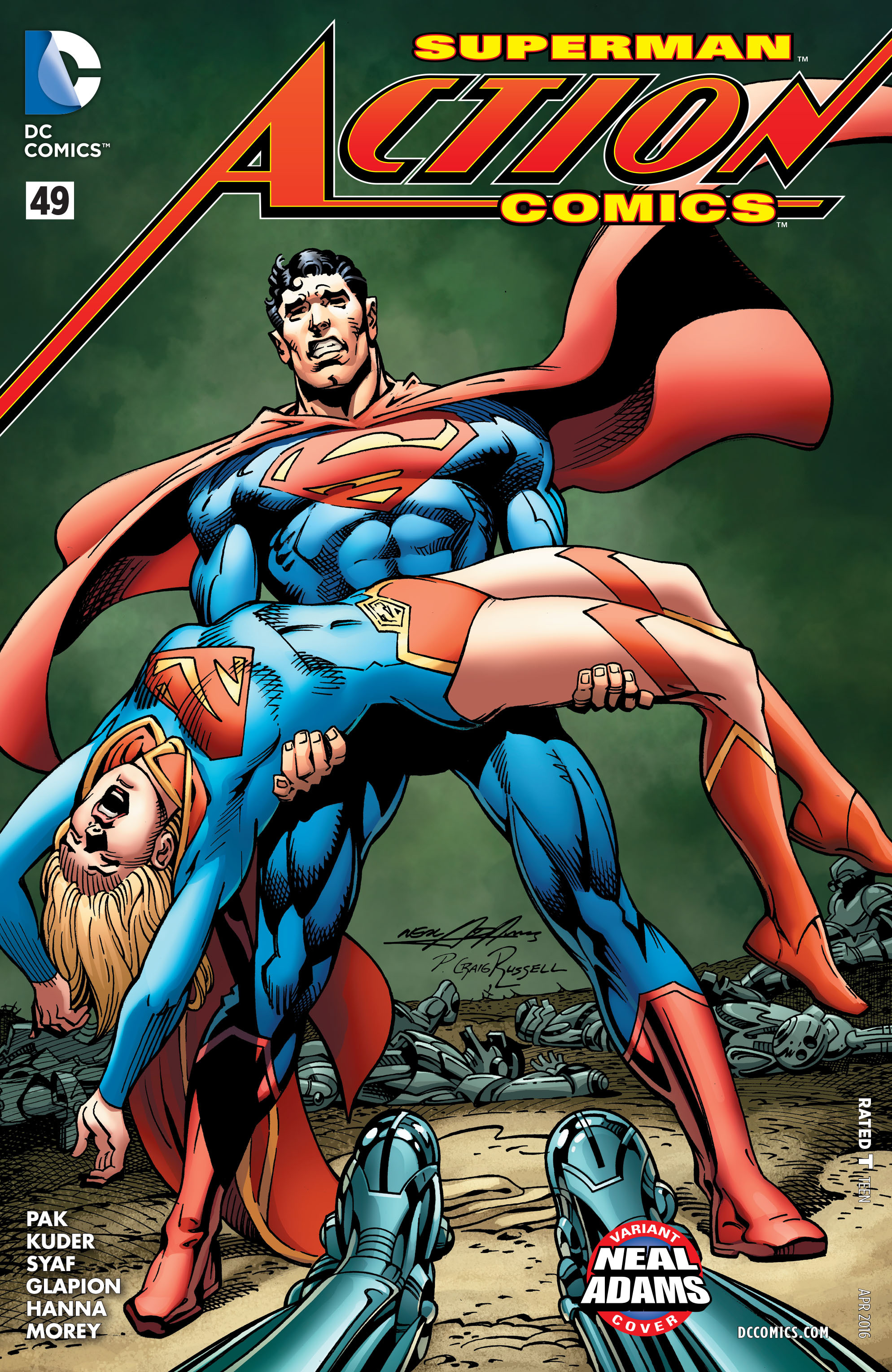 Read online Action Comics (2011) comic -  Issue #49 - 3