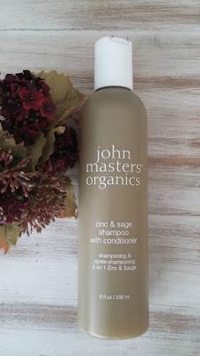 John Masters Organics zinc&sage shampoo