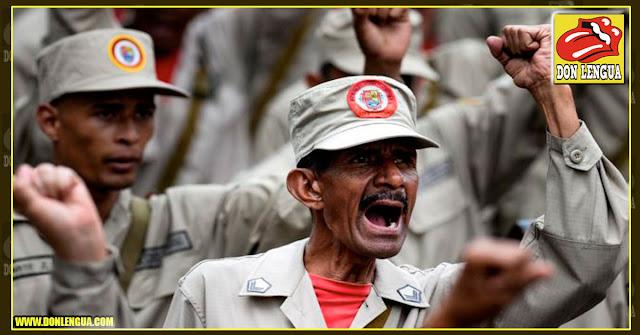 Maduro ordenó armar hasta los dientes a la milicia para esperar el 10 de enero