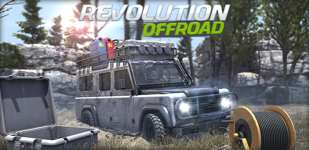 Revolution Offroad Spin Simulation MOD (gold/money) APK for Android