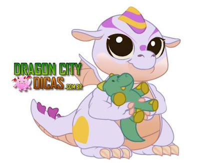 Dragão Adorável - Dragon City