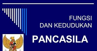 Fungsi Pancasila