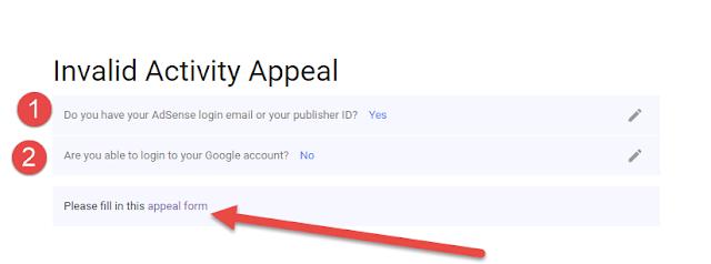 طريقة إستعادة حساب أدسنس بخطوة بسيطة