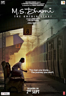 M.S. Dhoni – The Untold Story Poster