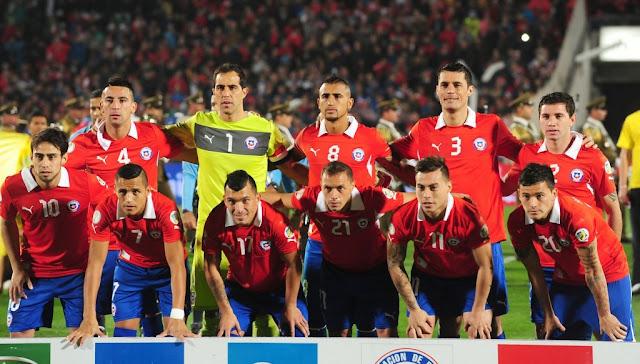 Formación de Chile ante Venezuela, Clasificatorias Brasil 2014, 6 de septiembre de 2013