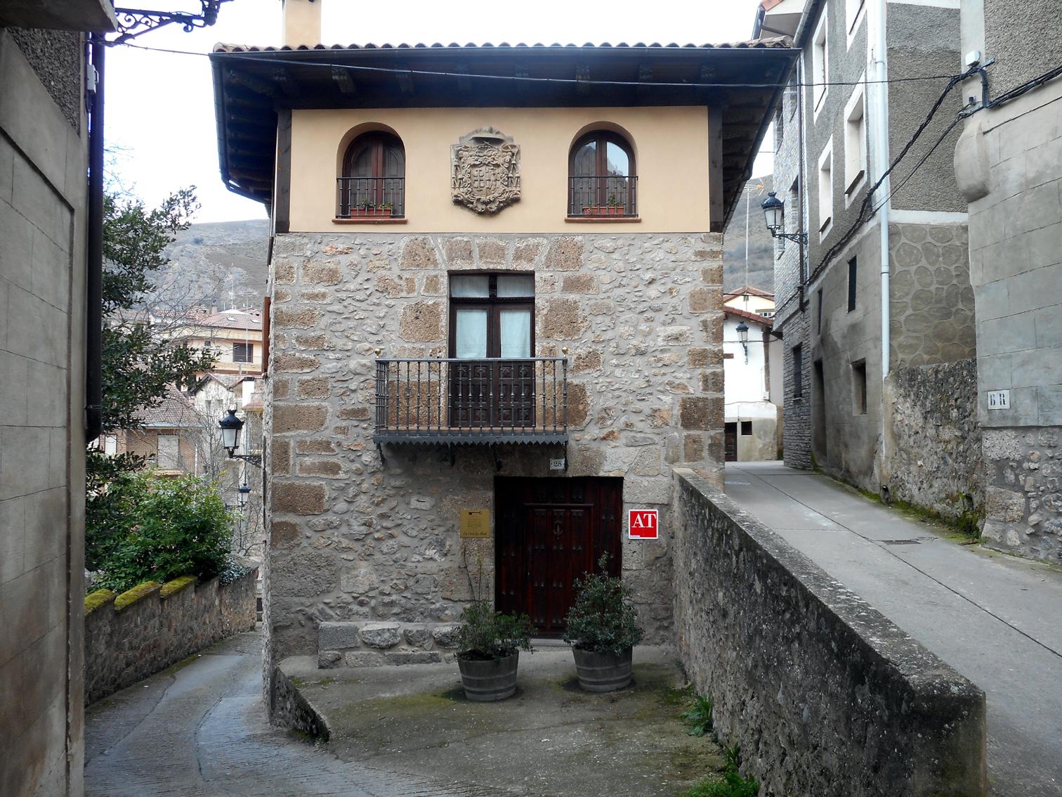 Casas solariegas en la rioja 399 anguiano v casa del abad - Casas prefabricadas la rioja ...