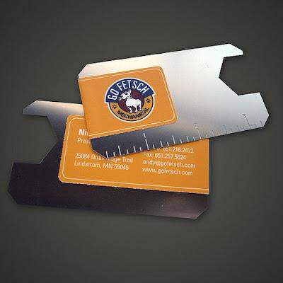 tarjetas de presentacion de metal