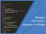 Membuat Prism Syntax Highlighter Simple Di Blog