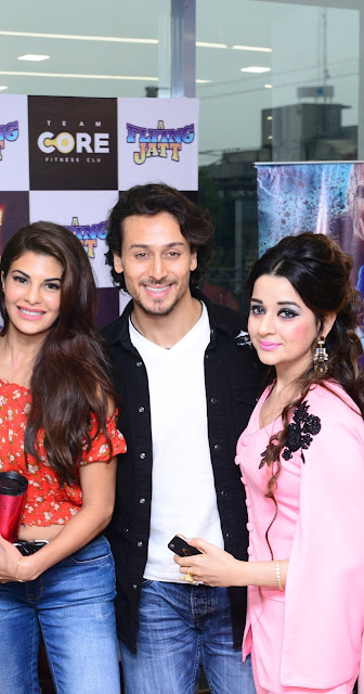 Jacqueline Fernandez, Tiger Shroff & Guneet Kaur