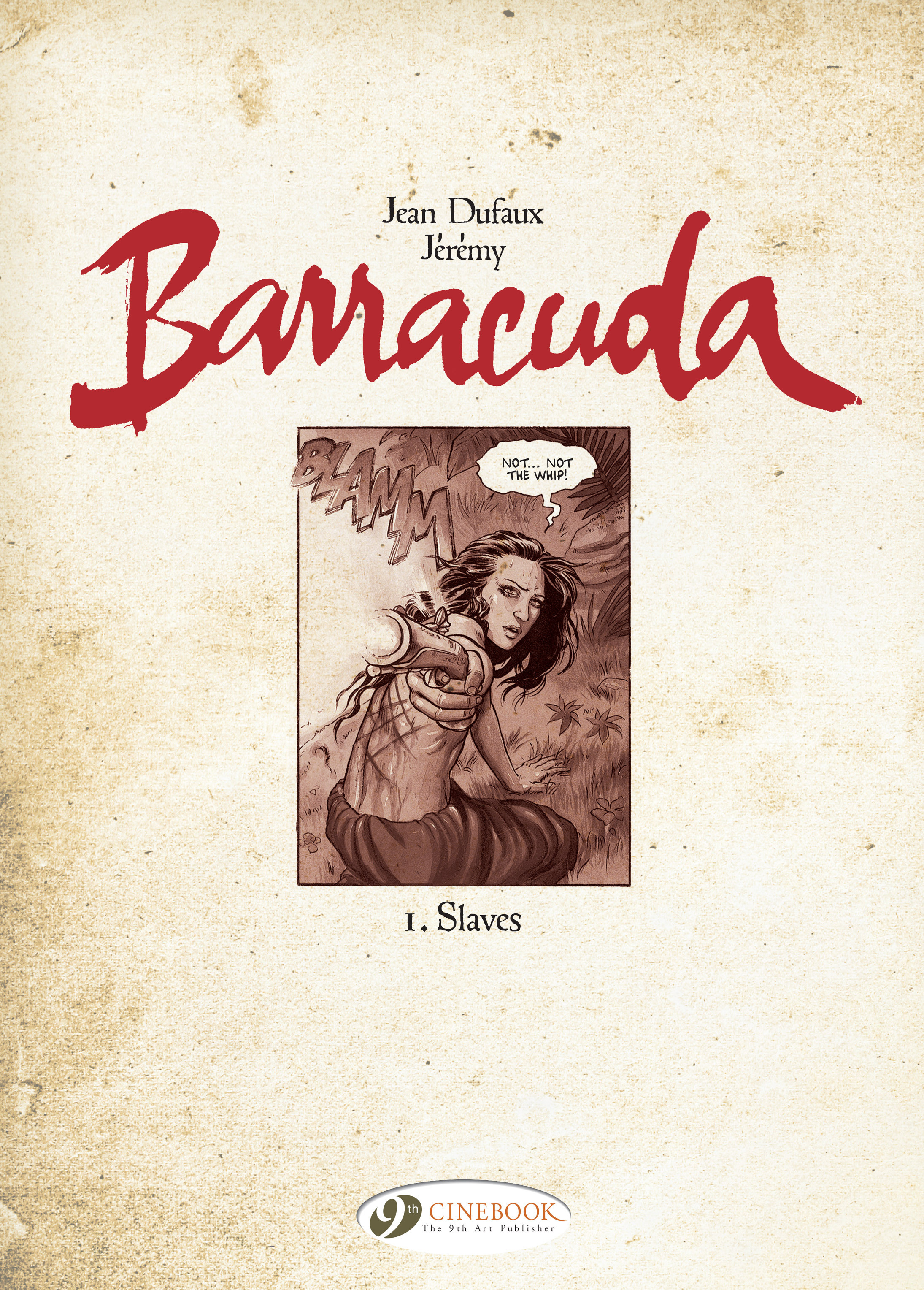 Read online Barracuda comic -  Issue #1 - 2