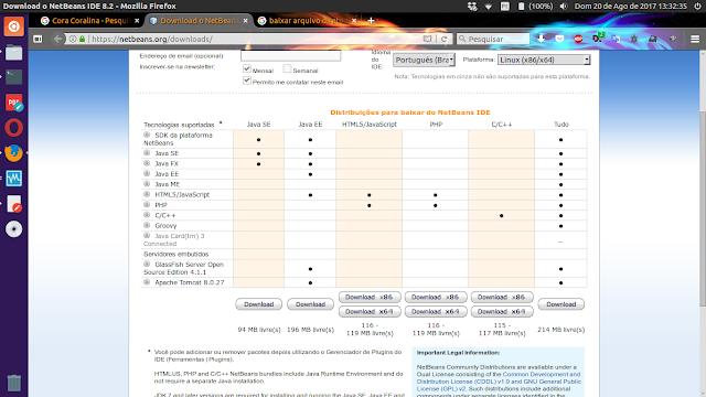 Download NetBeans