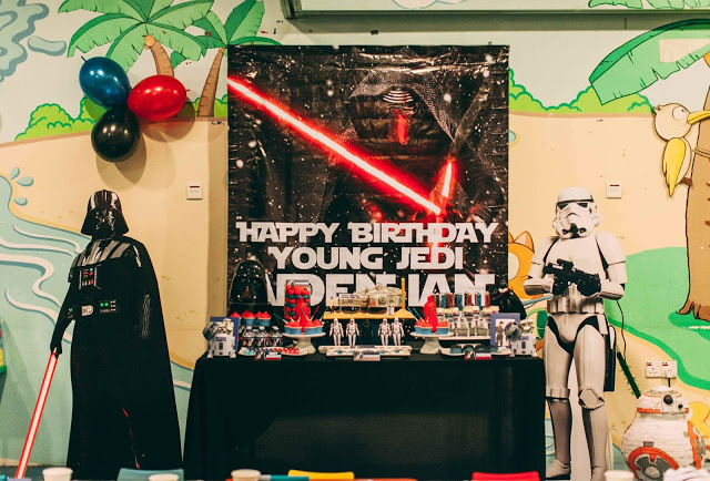 Aiden's 7th and Ian's 2nd Star Wars Birthday